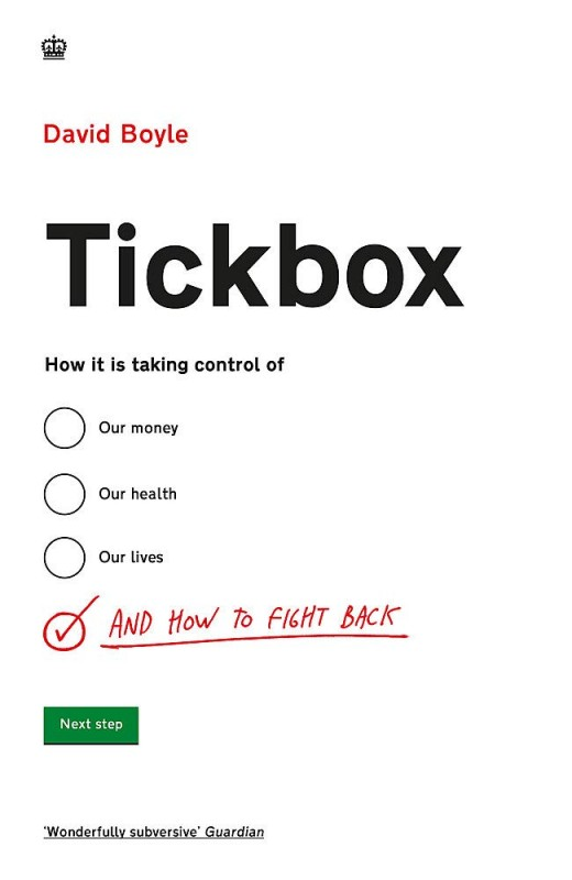 David Boyle - Tickbox