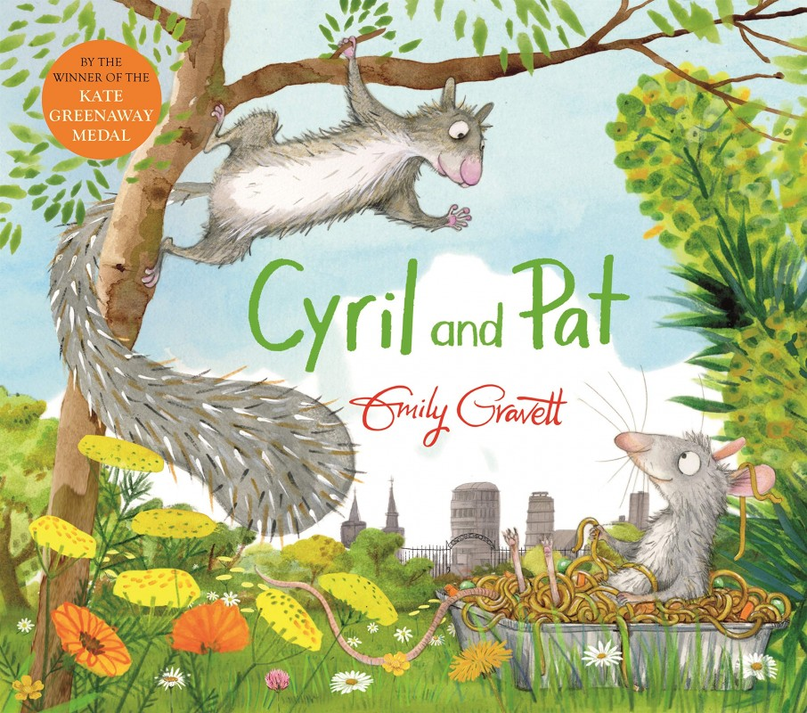Emily Gravett-Cyril and Pat