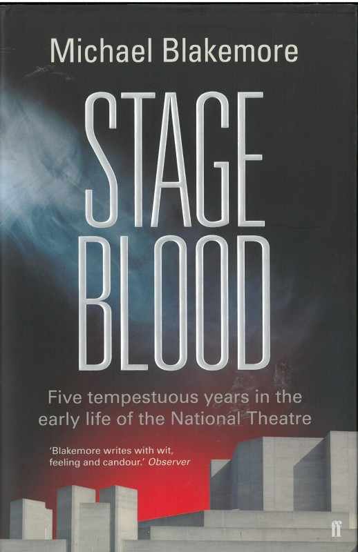 Michael Blakemore - Stage Blood UK Cover Faber