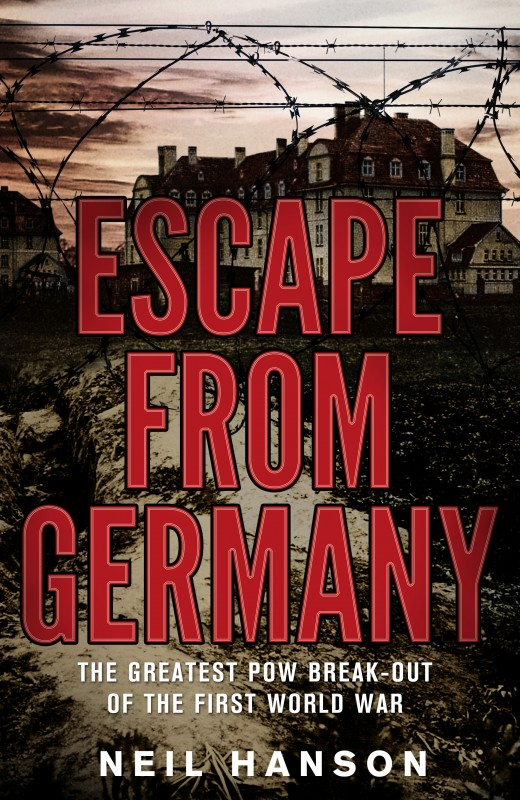 Neil Hanson - Escape From Germany UK Cover Penguin