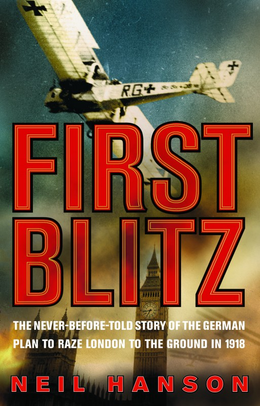 Neil Hanson - First Blitz UK Cover Penguin