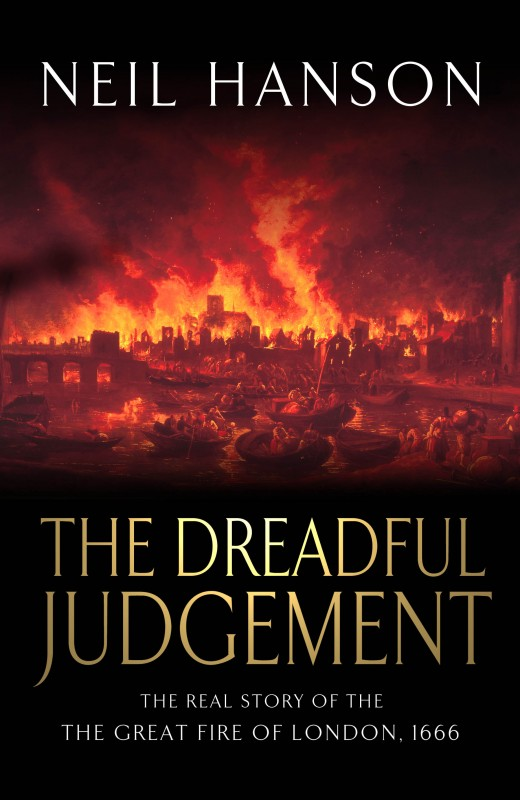Neil Hanson - The Dreadful Judgement UK Cover Doubleday