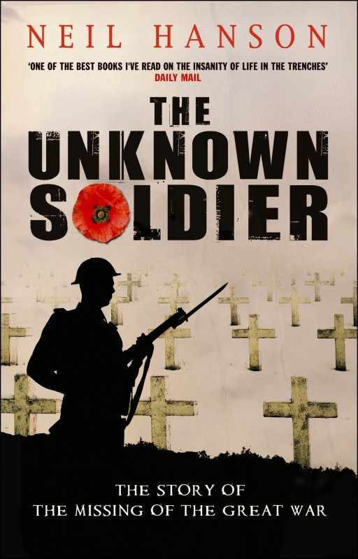 Neil Hanson - The Unknown Soldier UK Cover Doubleday